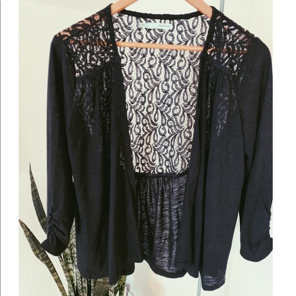 Maurices Tops - Dressy Cardigan with Lace detail